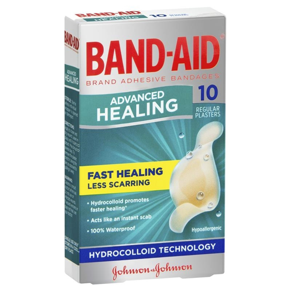 Picture of Bandaid Advanced Heal Reg 10