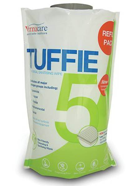 Picture of Tuffie 5 Universal Sanitising Wipe Refill 6 x 150s